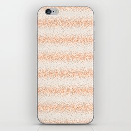 Difuse Orange iPhone Skin