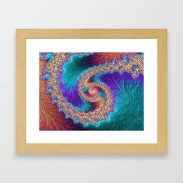 Water Rapids Framed Art Print