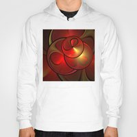 the shining Hoodies featuring Shining Fractal by gabiw Art
