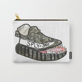 Shoe with a Mouth Carry-All Pouch