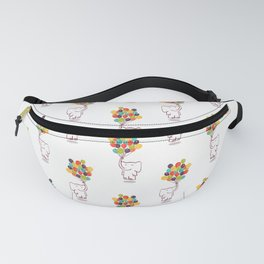 Flying Elephant Fanny Pack