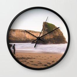 Shark Fin Cove Wanderer Wall Clock