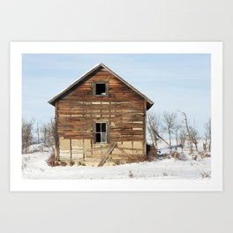 Noon Sun Farm 17 Art Print