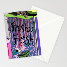 Frosted Flesh Stationery Cards