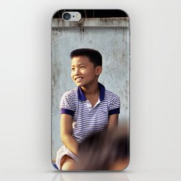 Laos Boys iPhone Skin