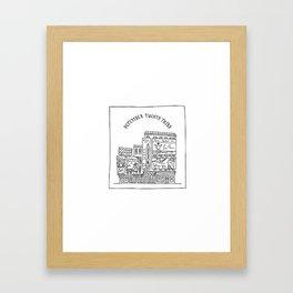 December Twenty-Third Framed Art Print