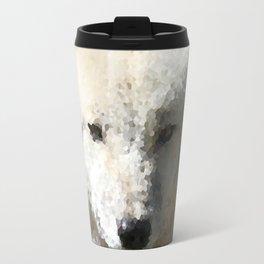 Poly Animals - Wolf Travel Mug