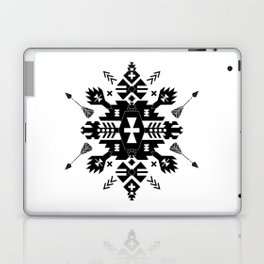Tribal Black and White Laptop & iPad Skin