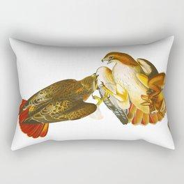 Red-tailed Hawk Rectangular Pillow