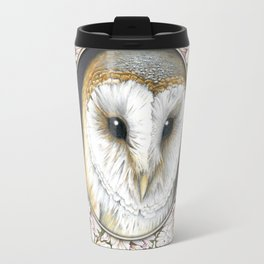 Barn owl small Travel Mug