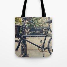 La Bella Epoca, La Belle Epoque, Vintage Bicycle  Tote Bag