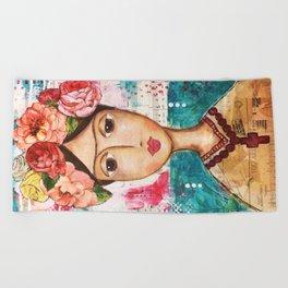 Coco's Closet - Inspired by Frida Beach Towel