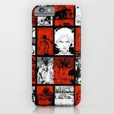RED & WHITE - A nne Frankenstein Book I - Resurrection Slim Case iPhone 6s
