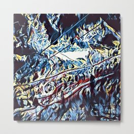 Wall ~ Ice Metal Print