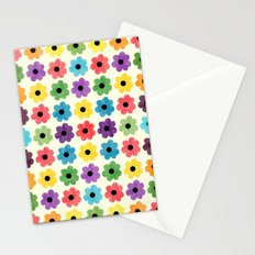 Colorful Floral Pattern IV Stationery Cards