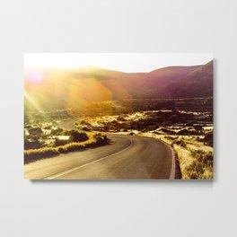 El Camino Dorado Metal Print
