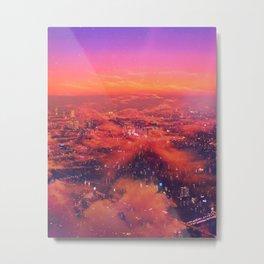 Neonlight Metal Print