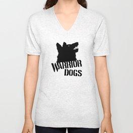Warrior Dogs Unisex V-Neck