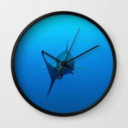 Galapagos Goodbye Wall Clock