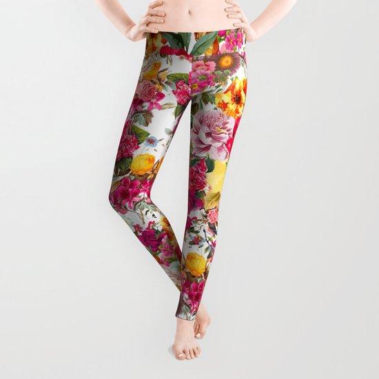 Botanic Pattern Leggings