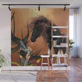 Beautiful horse  Wall Mural