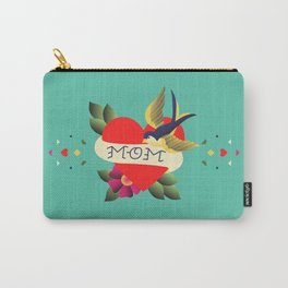 Mom Tattoo Carry-All Pouch