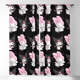 Kuromi and My Melody Blackout Curtain