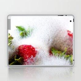 Strawberries in Focus Laptop & iPad Skin