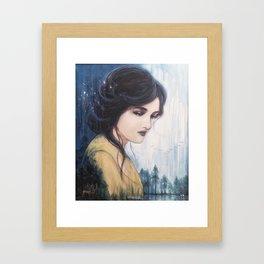Temperance - Tarot Card Art Framed Art Print