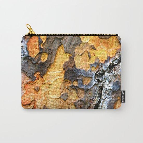Bark Cracks Carry-All Pouch