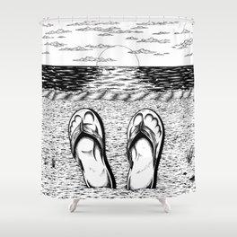 Ocean Relaxation Shower Curtain