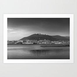 Santa Luzia, Viana do Castelo. Art Print
