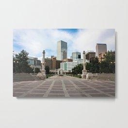 Denver Metal Print