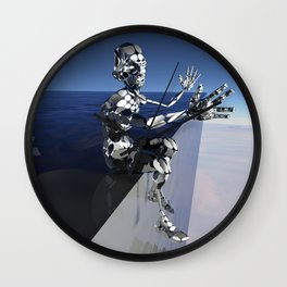 Outta This World I Wall Clock