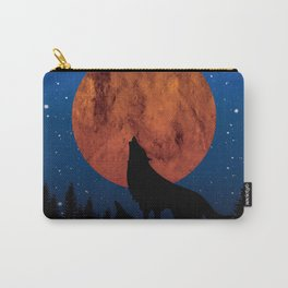 Wolf night Carry-All Pouch
