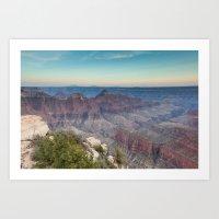 Sunset, North Rim, Grand Canyon National Park Art Print