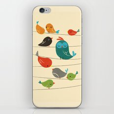 Colorful Birds iPhone Skin