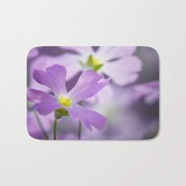 Primrose macro purple 021 Bath Mat
