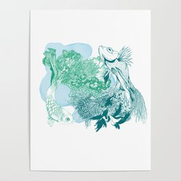 Fishy Dancers Poster