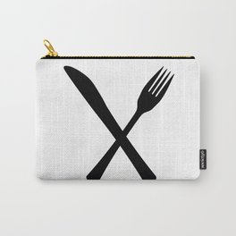 Knife And Fork Carry-All Pouch