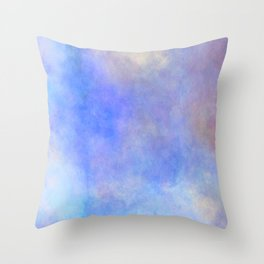 Soft violet blue Throw Pillow