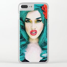 Adore Delano Clear iPhone Case