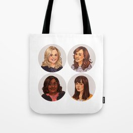 Parks and Recreation ladies Tote Bag