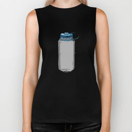 Nalgene water bottle wide mouth Art Biker Tank