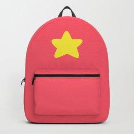 Crystal Gems star on pink Backpack