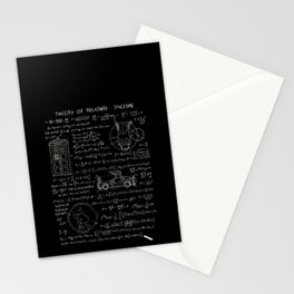 Theory of relativity : spacetime Stationery Cards