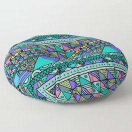 'Georganic no.6' Floor Pillow
