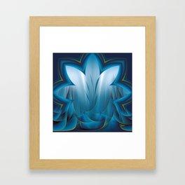 Color Meditation - Blue  Framed Art Print