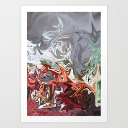 Blooded Mint Art Print