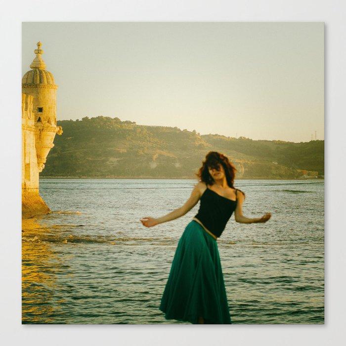 Dance Portugal Canvas Print